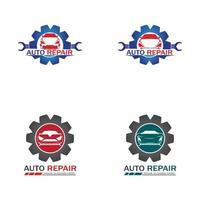 Auto Repairing Logo Vector. AutomotiveLogo template vector