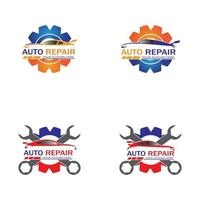 Auto Repairing Logo Vector. Automotive  Logo template vector