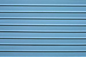 superficie de madera de listones, color azul foto