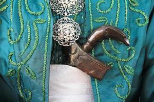 arma de boda malaya - keris foto
