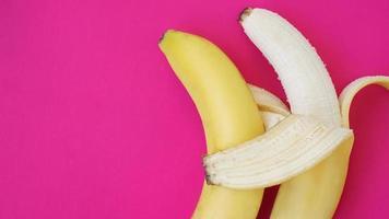 el concepto de una pareja amistosa. Plátano foto