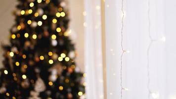 adornos navideños, árbol de navidad, regalos, año nuevo foto