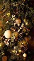 Christmas decorations, Christmas tree, gifts, new year photo