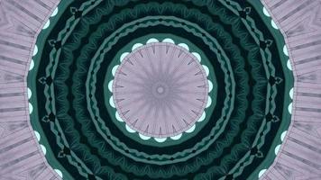 bague vert jade avec fond kaléidoscope indigo pâle video