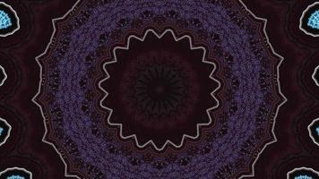 anneaux violets de vin foncé avec élément kaléidoscopique de lignes blanches video