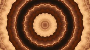élément kaléidoscopique en anneau de cuivre texturé video