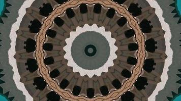élément kaléidoscopique à anneau brun varié video