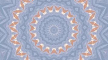 azzurro pallido con elemento caleidoscopico di accento rosa video