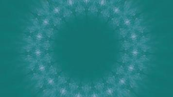 Teal Background with Textured Pink Accent Kaleidoscopic Element video