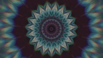 fond noir violet avec élément kaléidoscopique étoile pointue bleu égéen video