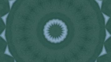 fond texturé vert avec élément kaléidoscopique accent bleu clair video