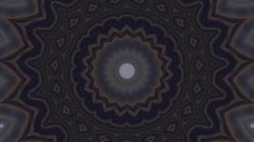 nuances d'élément kaléidoscopique étoile brun foncé video