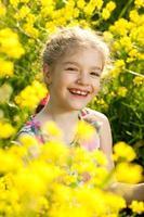 niña encantadora foto