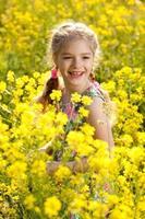 hermosa niñita foto