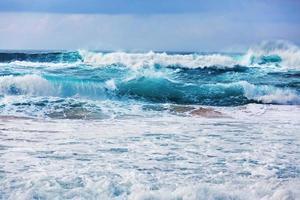 Raging atlantic ocean photo