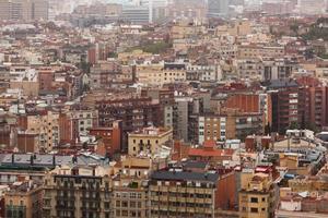 Huge populous city photo