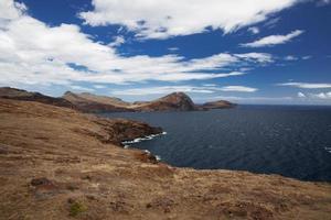 Mountain range along the Atlantic coast photo