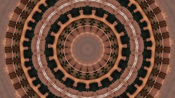 bague marron rose avec élément kaléidoscopique accents noirs video