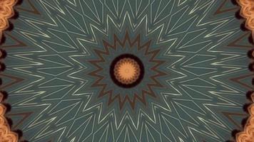 bague bleue froide grise avec élément kaléidoscopique à détail étoile blanche video