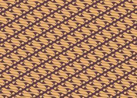 Seamless Batik Pattern. Indonesian Batik vector