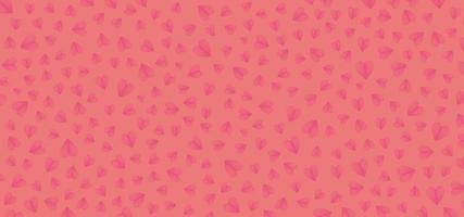 Pink valentine background vector