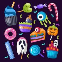 Trick or Treat Icon Set vector