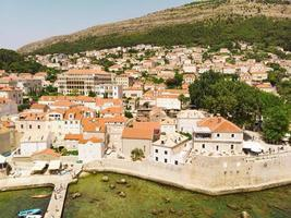 Aerial view at old town of Dubrovnik Croatia, photo