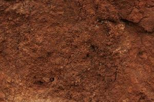 fragmento de fondo terroso marrón foto