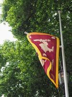 bandera de sri lanka de sri lanka foto