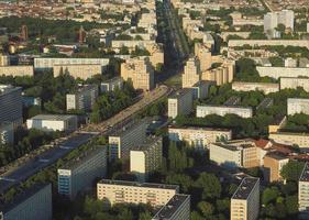 vista aerea de berlin foto