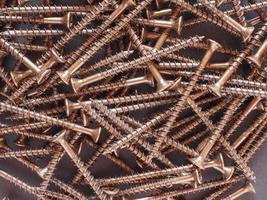 Wood screw fasteners photo