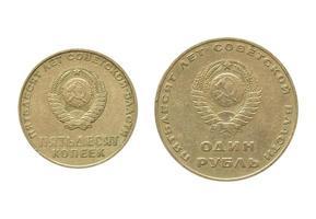 moneda cccp antigua foto