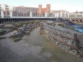 teatro romano de turín foto