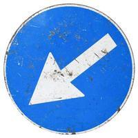 Direction arrow sign photo