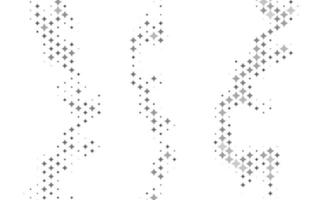 Light Silver, Gray vector layout with bright stars.