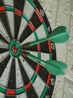 Goal game dart eye bull aspirations photo