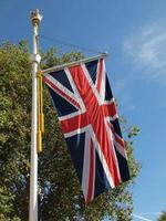 bandera del reino unido union jack foto