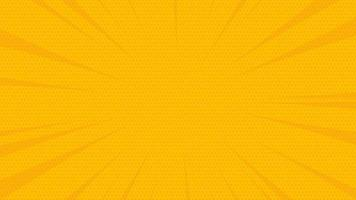 New abstract yellow comic zoom background vector