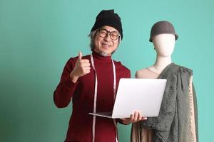 diseñador de moda asiático foto