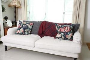 gran sofá sala de estar foto