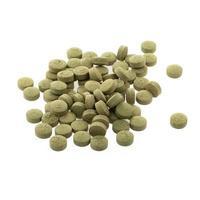 Extracto de hierbas medicinales tabletas píldoras con cápsulas y polvo o fa thalai chon foto