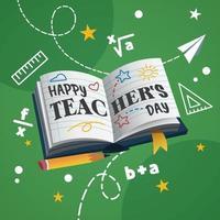 Teacher's Day Background vector