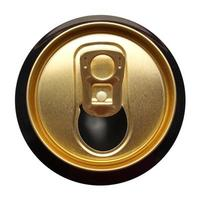 Beer can isolated photo