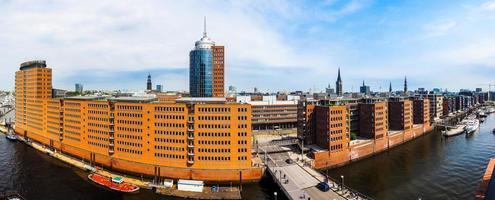 hafencity en hamburgo foto