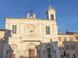 iglesia de san guglielmo en chieri foto