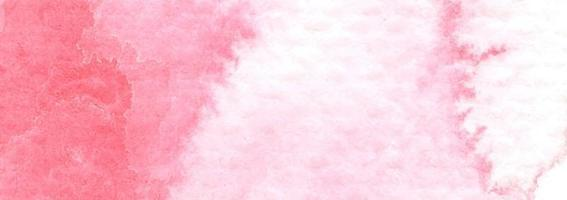 Pink stains on textured paper. Abstract watercolor background. vector