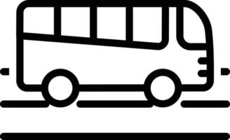 Line icon for travel vector