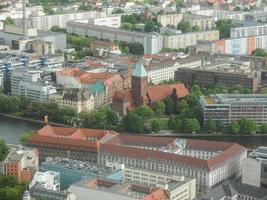 vista aérea de berlín foto