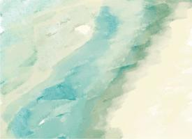 artistic vector watercolor paint textured blue green background.