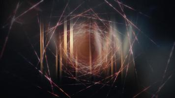 NEW UPDATE cinematic title background with abstract digital Sci-Fi video